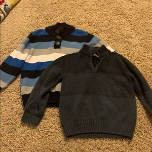 Bundle of two Gymboree sweaters